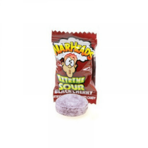 warheads extreme Black Cherry flavour
