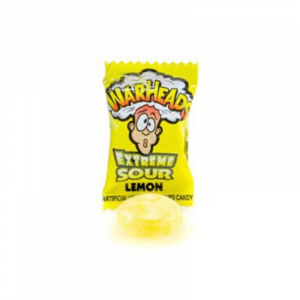 warheads extreme Lemon flavour
