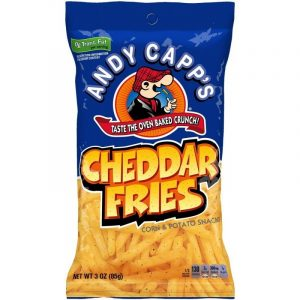 Andy Capps Cheddar Fries 12 CT 85g