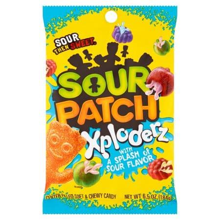 Sour Patch Xploderz Peg Bag 184g