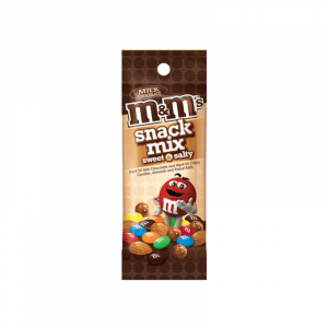 m&m sweet and salty snack mix Peanut