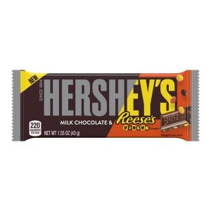 Hershey's Milk Chocolate Bar with Reese's Pieces 43g