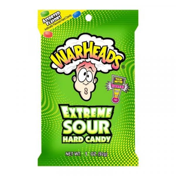 Americano Goodies warheads extreme sour hard candy