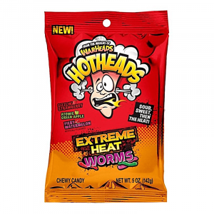 Americano Goodies warheads hotheads extreme heat worms