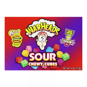 Americano Goodies warheads sour chewy cubes