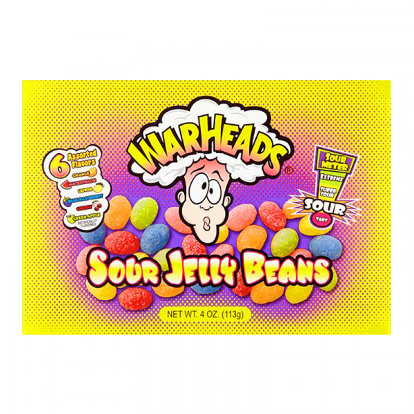 Americano Goodies warheads sour jelly beans