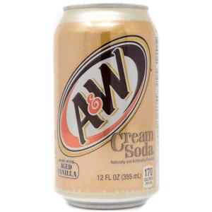 A&W Creme Soda Can 355ml
