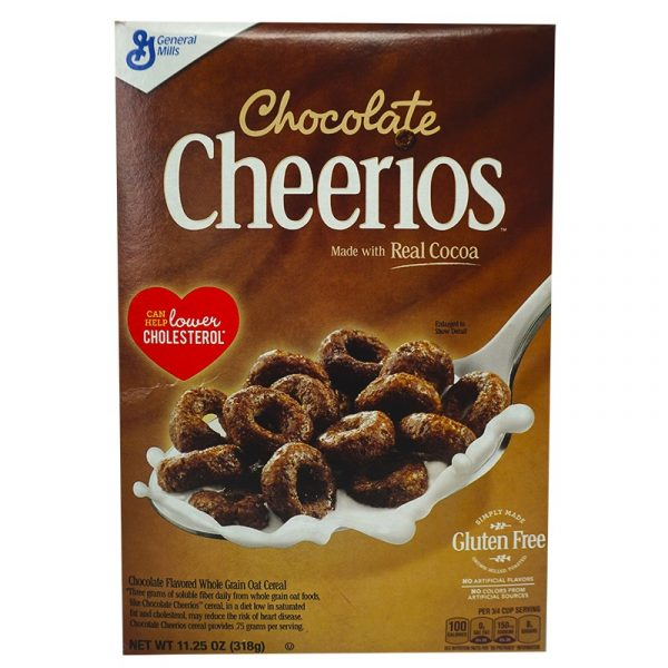 Cheerios Chocolate Cereal (318g)