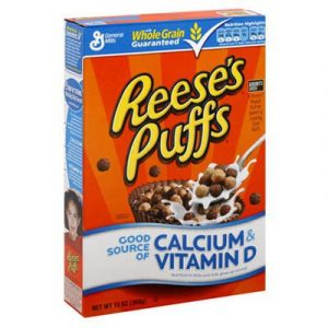 general mills reeses puffs