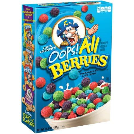 Cap'n Crunch Oops! All Berries Cereal