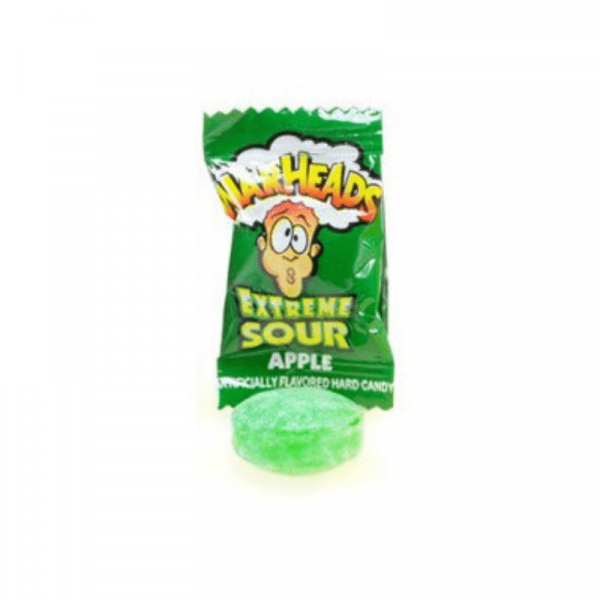warheads extreme Apple flavour