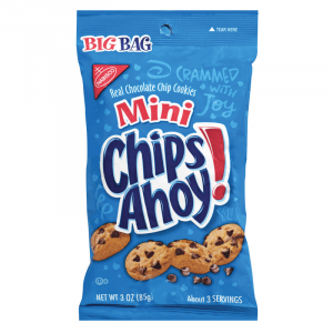 chips ahoy snack bag
