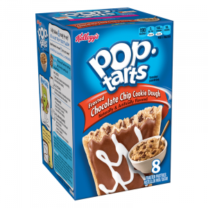 Frosted Chocolate Chip Cookie Dough Pop Tarts