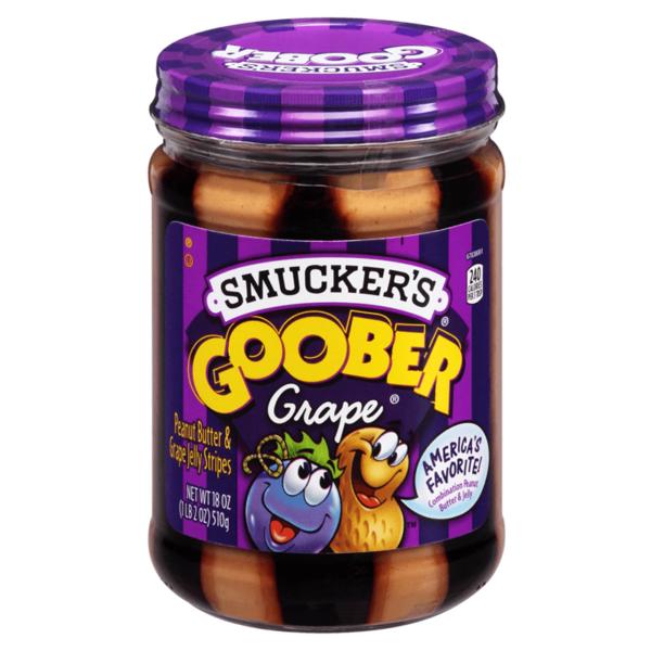 Goober Grape Peanut Butter Jelly