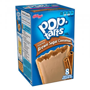Kellogg's Pop Tarts Grocery Pack Frosted Brown Sugar Cinnamon 8-Pack 399g