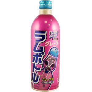 Sangaria Grape Ramune Soda 500ml