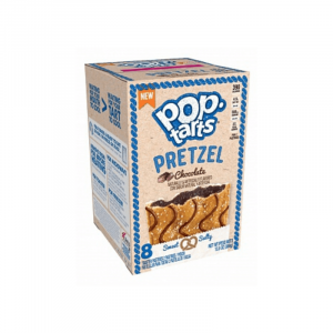 Kellogg's Pop Tarts Grocery Pack Pretzel Chocolate 8 Pack