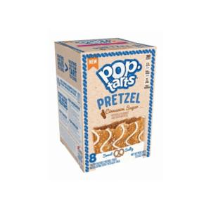 Kellogg's Pop Tarts Grocery Pack Pretzel Cinnamon 8 pack 384g