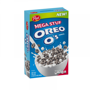 Post Oreo O's Cereal Mega Stuf 467g