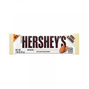 Hershey's White Creme With Almonds