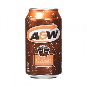 A&W Root Beer Can Caffeine Free