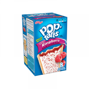 Kellogg's Pop Tarts Grocery Pack Frosted Raspberry 8-Pack 384g