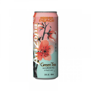 ARIZONA ICED TEA GREEN & GINSENG PEACH CAN