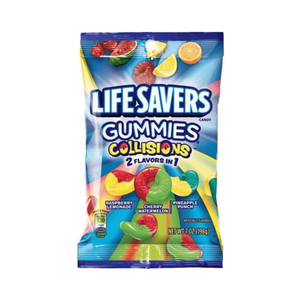 Lifesavers Gummie Collisions 198g