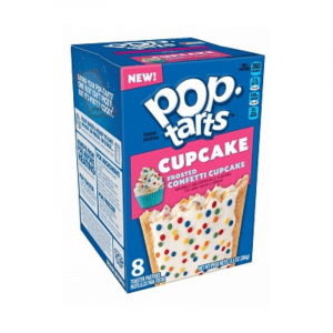 Kellogg's Pop Tarts Grocery Pack Frosted Confetti Cupcake 8-Pack 384g