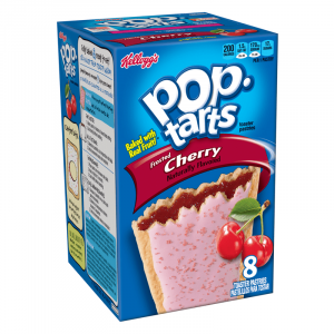 Kellogg's Pop Tarts Grocery Pack Frosted Cherry 8-Pack 416g