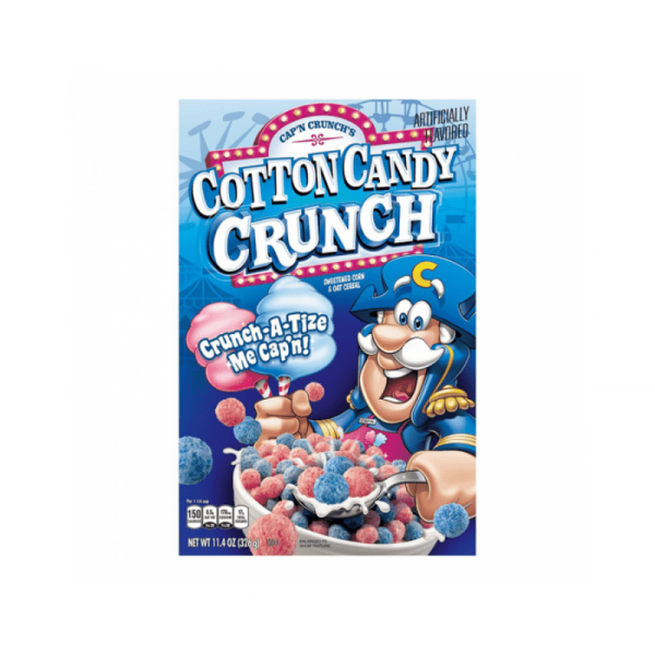 Cap'n crunch cotton candy Cereal 326g