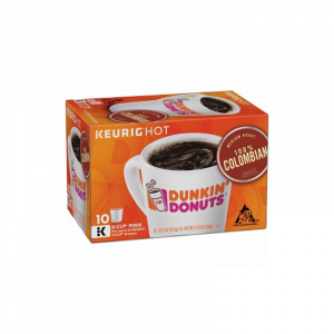 Dunkin' Donuts Coffee 100% Colombian K-Cup Pods 10 Pack