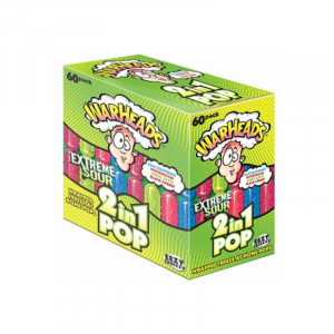 Warheads Freezer Pop 2 in 1 Extreme Sour