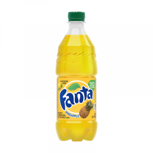 Fanta Pineapple Can 591ml bottle