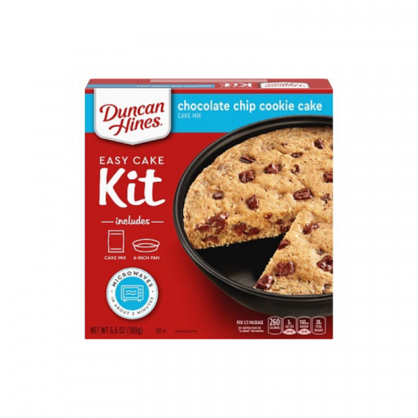 Duncan Hines Cake Mix Chocolate Chip Cookie Cake 188g