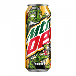 Mountain Dew Maui Burst With a Blast of Pineapple LIMITED EDITION 473ml