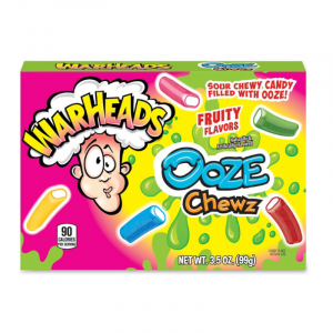 Warheads Sour Ooze Chewz Theater Box 99g
