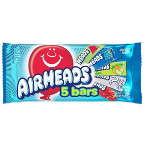 Airheads Assorted Flavours 5 Bar Pack 78g