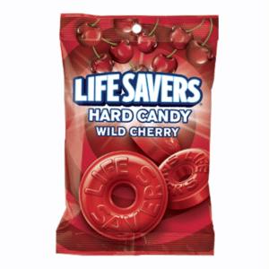 Lifesavers Hard Candy Wild Cherry 177g