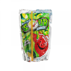 Kool Aid Sour Jammers Sour green apple