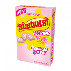 starburst all pink singles to go 12g