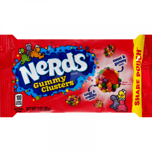 Nerds Gummy Clusters Share Pouch 85g