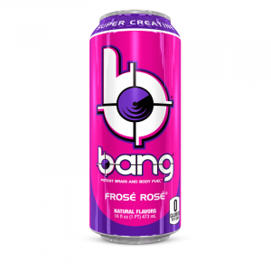 Bang Frose Rose Energy Drink with Super Creatine 473ml