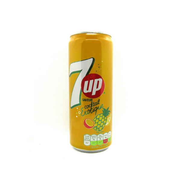 7up Cocktail Exotique Soft Drink 330ml