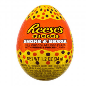 Reese's 3D Egg Filled With Pieces - Shake & Break 34g
