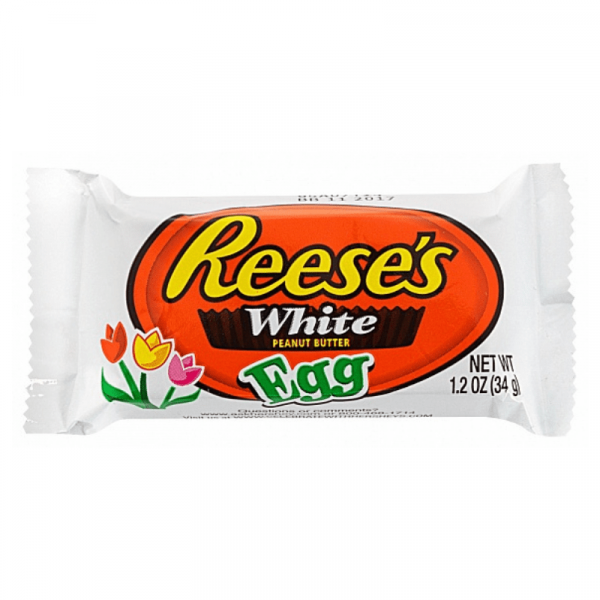 Reese's White Chocolate Peanut Butter Eggs 34g