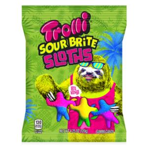 Trolli Sour Brite Sloths 120g