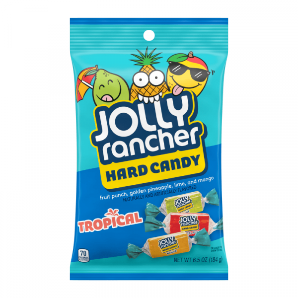 Jolly Rancher Hard Candy Tropical 184g