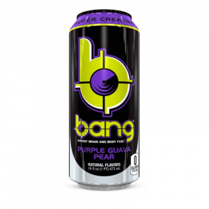 Bang Purple Guava Pear Energy Drink with Super Creatine 473ml