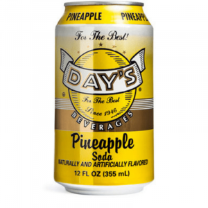 Day's Soda Pineapple 355ml